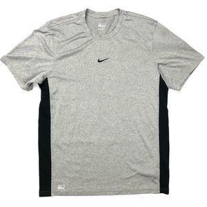 Nike Men's Medium Gray Workout T- Shirt